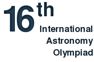16th International Astronomy Olympiad, Almaty 2011
